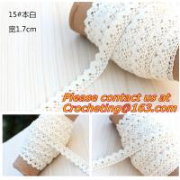 Buy cheap white cotton lace, trimming lace,crocheted lace for diy,garment accessory from wholesalers