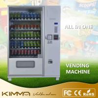 Buy cheap Large Capacity Snack And Drink Vending Machine For Cold Bottled Drinks Water from wholesalers