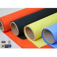Wholesale Acrylic Coated Fibreglass Fabric Orange 7628 260℃ 500℉ Chemical Resistant from china suppliers