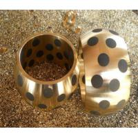 Buy cheap Oilless Graphite Plugged Bronze Bushings CNC Machine Milling Turning from wholesalers
