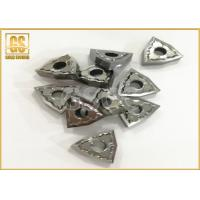 Buy cheap Hard Metal Cemented Carbide Inserts , Carbide Tip Inserts With Tool Holders from wholesalers