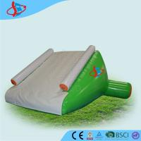 Buy cheap White Large Inflatable Water Slides For Swimming Pool 0.9mm PVC from wholesalers