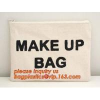 Buy cheap eco friendly wall hanging bags cotton linen sundries basket jute cosmetic bag for women,soft organic cotton cosmetic bag from wholesalers