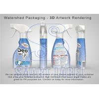 Buy cheap Recyclable Transparent Shrink Wrap Film Plastic Bottle Labels 45 µm from wholesalers