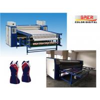 Buy cheap Decoration / Advertising Textile Calender Machine Heat Press Transfer Roller Machine from wholesalers