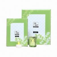 Buy cheap Glass Photo Frames with Colored Leaves Decal Original Design from wholesalers