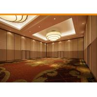 Buy cheap Multi - Function Sliding Screen Room Divider Wooden Veneer Finished Easy Lock Up Set from wholesalers