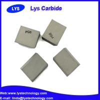 """Cemented Carbide Inserts 1/2"""" Square P30 grade carbide blank Manufactures"""