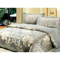 China King Size Cotton Printed Quilt Cover Set for Home (LJ-S14) on sale