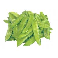 China Green IQF Fresh Frozen Foods , 18 Months Shelf Life Frozen Pea Pods for Supermarkets on sale