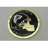 China Soft Enamel Personalized Coins Gold Plating 50.8mm Diameter OEM ODM for sale