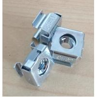 Buy cheap Galvanized Floating Clip Nut Cage Nuts Passivation Surface For Rack Panel from wholesalers