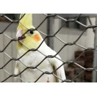 Buy cheap 304 Stainless Steel Aviary Mesh Lightweight Delicate Fatigue Resistance product