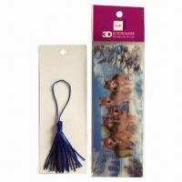 Wholesale High-quality Bookmarks, Wonderful 3D Depth Designs, Color More Fresh and Clear from china suppliers