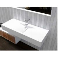 Buy cheap Home Hotel Wall Hung Wash Hand Basin Non Porous Stain Resistant from wholesalers