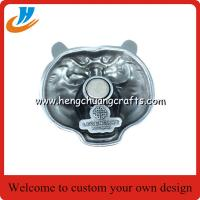 Buy cheap Custom fridge magnet Promotional item metal fridge magnet with good quality from wholesalers