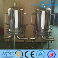 8R 9R Sanitary Filter Housing For Sugar Syrups Beer Final Filtration Manufactures