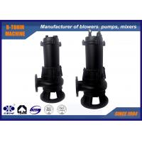 Buy cheap Casting Submersible Sewage Pump , flow rate 40m3/h centrifugal water pump from wholesalers