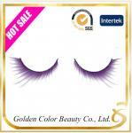 Buy cheap Hot sale new style natural metallic yarn false eyelashes cotton band from wholesalers