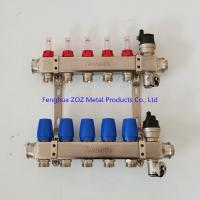 Buy cheap Under Floor Central Heating Manifolds ,Stainless Steel Flow Meter Manifold from wholesalers
