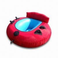 Wholesale Inflatable Towable Tube, Made o f 0.6mm PVC Material, Customized OEM Designs Accepted from china suppliers