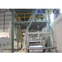 4200mm Single beam PP PP Non Woven Fabric Making Machine For Shopping Bag Manufactures