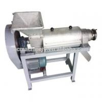 Buy cheap fresh pineapple fruit screw juicer machine juice container mango processing plant from wholesalers