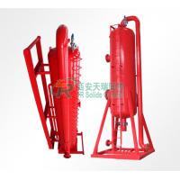 Buy cheap Oil & Gas Field Drilling Mud Gas Separator and Oil Separator / Poor Boy Degasser for Sale from wholesalers