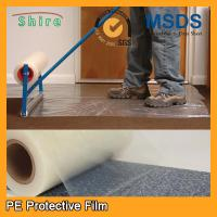 Buy cheap Heavy Duty Car Carpet Protector Film , Sticky Back Plastic Carpet Protector Film from wholesalers