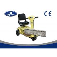 Buy cheap Wet / Dry Floor Cleaning Machines Dust Cart Scooter Ride On Battery Operated from wholesalers