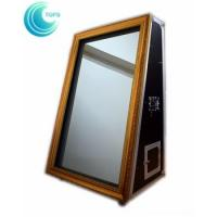 Buy cheap Entertainment 55 inch selfie portable magic mirror photo booth with flight case from wholesalers