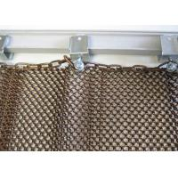 Buy cheap Durable Metal Coil Curtain For Restaurant Interior Decoration With Accessories from wholesalers