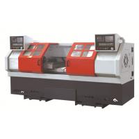 Buy cheap Double spindle CNC lathe Machine , horizontal 2 head threading machine from wholesalers