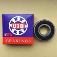 Motorcycle bearing 6204 2RS chrome steel GC415 precision grade P6P0,ZV1 stable quality and good price motorcycle bearing Manufactures