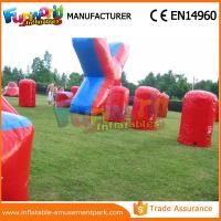 Wholesale Customized Color Inflatable Air Bunker 0.6mm PVC Tarpaulin Paintball Inflatable Bunkers from china suppliers