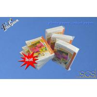 Buy cheap 230g RC suede printing paper inkjet photo paper A6 size 100 sheet package from wholesalers