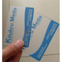 Buy cheap Transparent business card from wholesalers