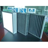 Buy cheap Black Activated Carbon Air Filter Galvanized Mesh Handle For Jointing from wholesalers