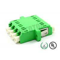 4 Column Fiber Optic To Aux Adapter APC End Face , Low Excess Loss