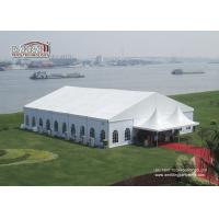 Buy cheap Wind Resistant Outdoor Party Tents / Glass Wall Waterproof Party Tents from wholesalers
