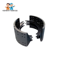 Buy cheap Factory Wholesale Spare Parts Brake lining for Trailer Axles Truck Rear Axles from wholesalers