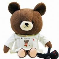Plush Toy with Cute Teddy Bear Design, Good for Children
