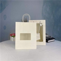 Buy cheap Eco Friendly PVC Custom Printed Paper Bags For Place Bread from wholesalers