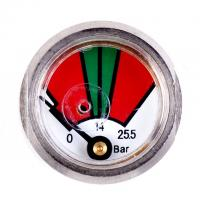 Buy cheap Chrome Plated Fire Extinguisher Gauge Diaphragm Pressure Gauges JQ0808 from wholesalers