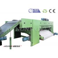 Leather / Carbon Fiber Cross Lapper Machine For PU Leather Making 2800mm Width Manufactures