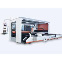 Buy cheap Hot Sale Full Closed Exchange Table Fiber Laser Sheet&Tube Cutting Machine Price from wholesalers