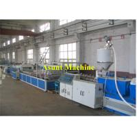 Buy cheap PVC Plastic Profile Production Line Wood Plastic Extruder Line 400-600kg/H from wholesalers