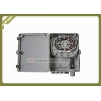 Buy cheap Fiber Terminal Box 8 Cores , Fiber Optic Ftth Distribution Terminal Box with cable gland 6~11mm from wholesalers