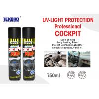 Buy cheap Cockpit Spray Or Car Care Spray Panel / Cockpit / Leather / Tyre Protection Use from wholesalers