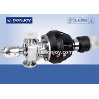 Wholesale SS316 Stainless steel Pneumatic Diaphragm Valve with control unit from china suppliers